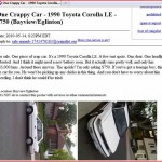 One Crappy Car - 1990 Toyota Corolla LE - $750